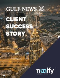 Leading News Publisher of the UAE | Gulf News | Nunify Case Study - Cover